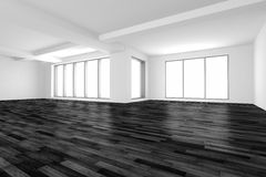 3d interior, empty room Royalty Free Stock Images