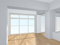 3d interior (render illustration). Royalty Free Stock Photography