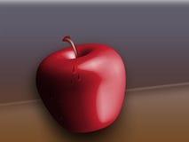3d jabłko Zdjęcie Stock