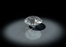 3D jewelry diamond Stock Images