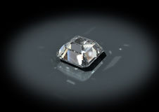 3D jewelry diamond Royalty Free Stock Photo