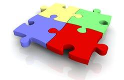 3d jigsaw puzzle Royalty Free Stock Photos