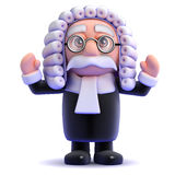 3d Judge passes sentence Stock Photos