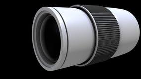 3d kamera obiektyw Obraz Royalty Free