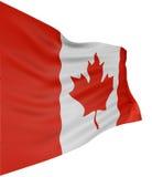 3D Kanada Markierungsfahne Lizenzfreie Stockfotografie