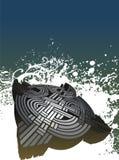 3D Keltische achtergrond illustrat Royalty-vrije Stock Fotografie