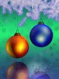 3D Kerstmis en Nieuwjaar Royalty-vrije Stock Foto's