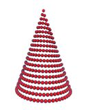 3d Kerstmisboom Royalty-vrije Stock Afbeelding