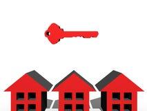 3D Keys Stock Photography