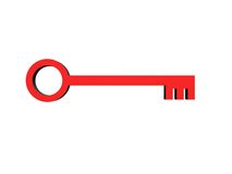 3D Keys Stock Photo