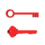 3D Keys Stock Image