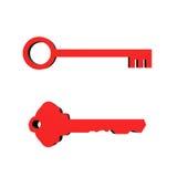 3D Keys Stock Image