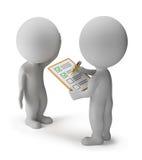 3d kleine Leute - Übersicht Lizenzfreies Stockbild