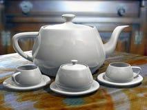 3d koffiekoppen Stock Afbeeldingen