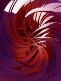 3d kolorowy abstrakcjonistyczny tło Zdjęcia Royalty Free