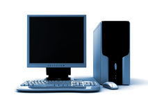 3d komputer Obrazy Royalty Free