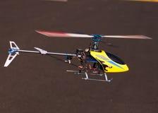 3d kontrolny śmigłowcowy pilot Zdjęcia Stock