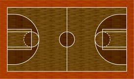 3d koszykówki mapa Fotografia Stock