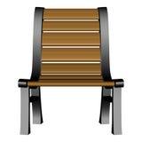 3d krzesło ogród Zdjęcie Stock