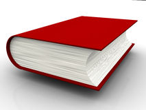 3d książka Zdjęcia Stock