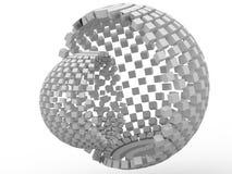 3d kubus stock illustratie