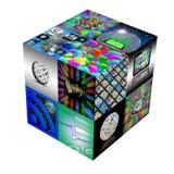 3D kubus Stock Foto