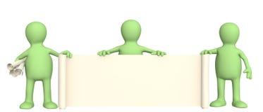 3d kukły ewidencyjna ślimacznica ilustracja wektor
