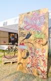 3D Kunst op de Straat (23 Maart - 7 April 201 Stock Foto's