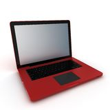3d laptop notebook Royalty Free Stock Photography