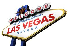 3d Las Vegas Sign, Nevada Royalty Free Stock Photography