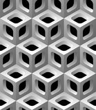3d lattice seamless pattern Royalty Free Stock Photography