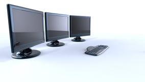 3d lcd screens Stock Photos