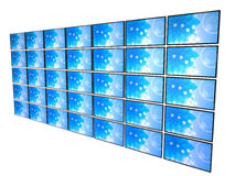 3D LCD Televisions Stock Photography