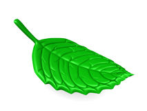 3d leaf Stock Photo
