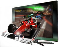 3D led television Stock Images