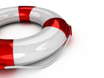 3d Lifebuoy Royalty Free Stock Photo
