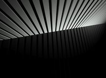 3d lines, abstract futuristic background Royalty Free Stock Images