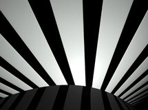 3d lines, abstract futuristic background Stock Images