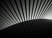 3d lines, abstract futuristic background Royalty Free Stock Photography