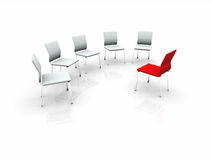 3d Little conference Stock Photo