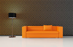 3d living room Royalty Free Stock Photography