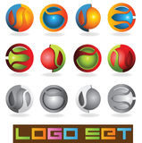 3D Logo Royalty Free Stock Photography
