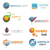 3D Logo Stock Photo