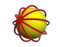 3D logo Stock Image