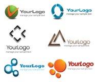 3D Logo. Set,company identity pack Royalty Free Stock Photo