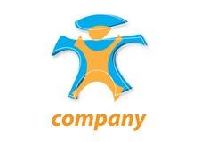 3d logo Zdjęcia Royalty Free
