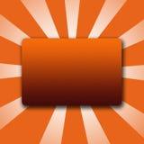 3D Logo Button Stock Photo