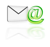 3d mail royalty free stock images