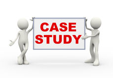 Free 3d Man Holding Case Study Royalty Free Stock Photography - 48524497