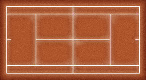 3D Map Tennis. Tennis court for 3D modelling royalty free illustration